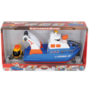 Dickie Toys Lights & Sounds Explorer Boat