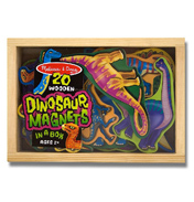 Dinosaur Magnets in a Box