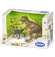 Dinosaurs T-Rex & Oviraptor Collectors Box Set