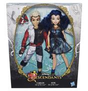 Descendants Doll Two Pack