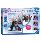 Disney Frozen 100 Piece Spot the Difference Puzzle