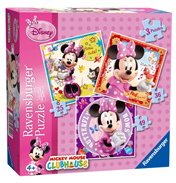 Disney Minnie Mouse 3 in a Box Puzzle