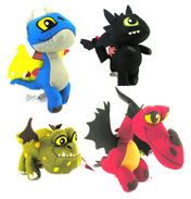 Dragons Defenders of Berk Plush Buddies TOOTHLESS