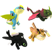 How to Train Your Dragon 2 Action Dragon Plush…