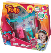 Dreamworks Trolls Hair Styling Kit