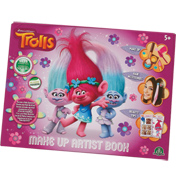 Dreamworks Trolls Make Up Artist Book