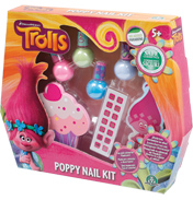 Dreamworks Trolls Poppy Nail Kit