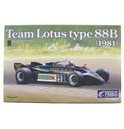 Ebbro Team Lotus Type 88B (1981) Model Set (Scale…