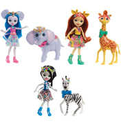 Enchantimals Doll & Large Animal Pack