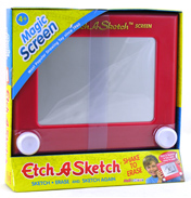 Etch A Sketch Red