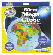 BrainStorm Fact Finders Mega Globe