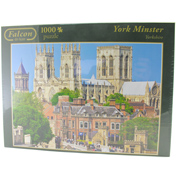Falcon Deluxe York Minster 1000 Piece Jigsaw…