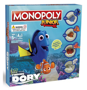 Finding Dory Monopoly Junior