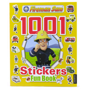 Fireman Sam 1001 Stickers Fun Book