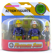 Fireman Sam 2 Figure Pack- Sam & Fire Officer…