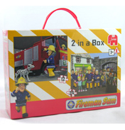 Fireman Sam 2 in a Box Puzzle