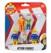 Fireman Sam Action Figures Five Pack