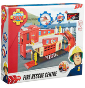 Fireman Sam Die-Cast Fire Rescue Centre Playset