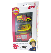 Fireman Sam Die-Cast Vehicle 3 Pack