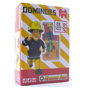 Jumbo Fireman Sam Plastic Dominoes