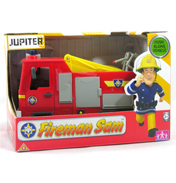 Fireman Sam Vehicles- Jupiter Fire Engine