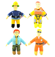 "Fireman Sam 8"" Plush Collectables"