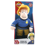 "12"" Talking Fireman Sam"