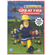 Fireman Sam & The Great Fire of Pontypandy DVD