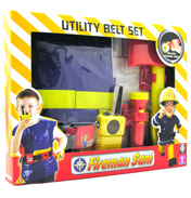 Fireman Sam Utility Belt with Jacket &…