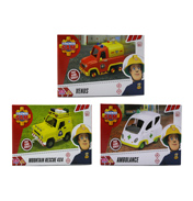 Fireman Sam Vehicle  (SEALED BOX) RESCUE…