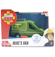 Fireman Sam Vehicle (See Through Box) MIKE'S…