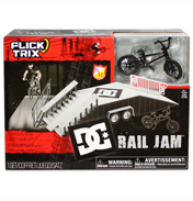 Flick Trix Stunt Set- DC Rail Jam