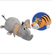 Flip A Zoo Theodore Tiger & Emma Elephant Plush