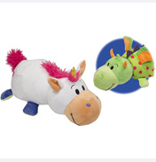 Flip A Zoo Persephone Unicorn & Imogen Dragon Plush