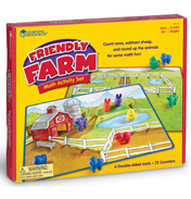 Friendly Farm Maths Activity Set
