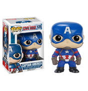Funko Pop! Captain America Civil War Captain America Vinyl Bobblehead