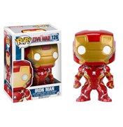 Funko Pop! Captain America Civil War Iron Man Vinyl Bobblehead