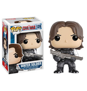 Funko Pop! Captain America Civil War Winter Soldier Vinyl Bobblehead