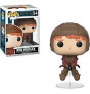 Funko POP! Ron Weasley on Broom (#54)