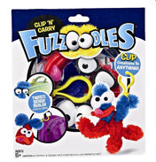 Fuzzoodles Clip n Carry (Assorted)
