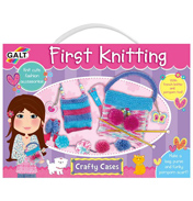 Galt Crafty Cases First Knitting Set