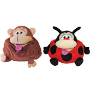Snuggle Pets Tummy Stuffers Brown Monkey GIANT…