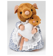 Beatrix Potter Hunka Munca & Baby Plush