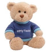 #MyTeddy Teddy Bear in Blue