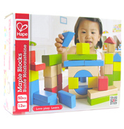 Hape Maple 50 Piece Block Set