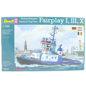Harbour Tug Boat Fairplay I, III, X (Scale 1:144)