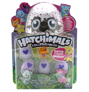Hatchimals CollEGGtibles 4 PACK + Bonus Animal…