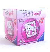 Hello Kitty 54 Piece Puzzle Ball