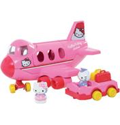 Hello Kitty Jumbo Jet Playset