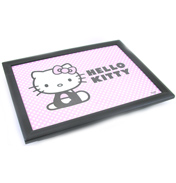 Hello Kitty Lap Tray with Cushion